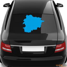 "Autoaufkleber ""Andorra"""