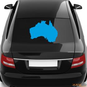 """Autoaufkleber """"Australien"""""""