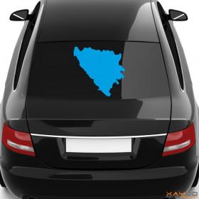 "Autoaufkleber ""Bosnien & Herzegowina"""