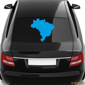 "Autoaufkleber ""Brasilien"""