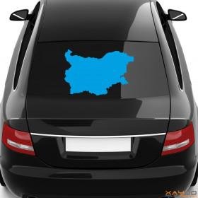 "Autoaufkleber ""Bulgarien"""