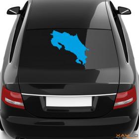"""Autoaufkleber """"Costa Rica"""""""