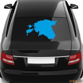 """Autoaufkleber """"Estland"""""""