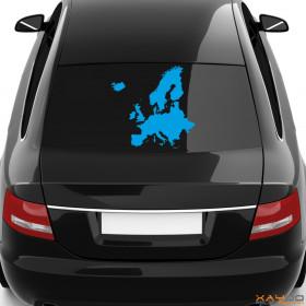 "Autoaufkleber ""Europa"""