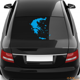 "Autoaufkleber ""Griechenland"""