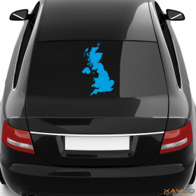 """Autoaufkleber """"Groß Brittanien"""""""