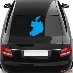 "Autoaufkleber ""Irland"""