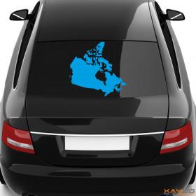 """Autoaufkleber """"Kanada"""""""