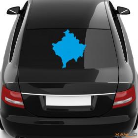 "Autoaufkleber ""Kosovo"""