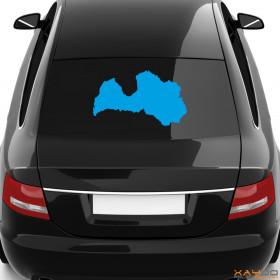 "Autoaufkleber ""Lettland"""
