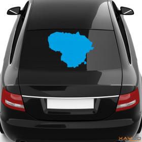"""Autoaufkleber """"Litauen"""""""