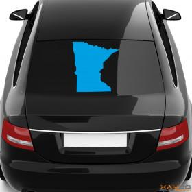 "Autoaufkleber ""Minnesota"""