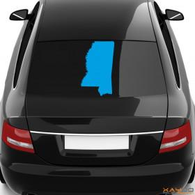 "Autoaufkleber ""Mississippi"""