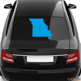 "Autoaufkleber ""Missouri"""