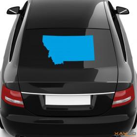 "Autoaufkleber ""Montana"""