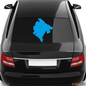 "Autoaufkleber ""Montenegro"""