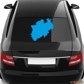 "Autoaufkleber ""Nordrhein-Westfalen"""