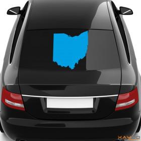 "Autoaufkleber ""Ohio"""