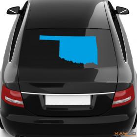 "Autoaufkleber ""Oklahoma"""