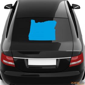 """Autoaufkleber """"Oregon"""""""