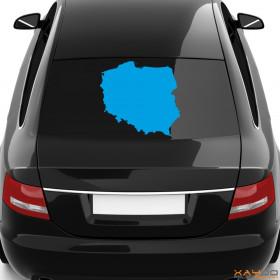 "Autoaufkleber ""Polen"""