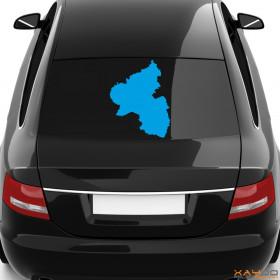 """Autoaufkleber """"Rheinland-Pfalz"""""""