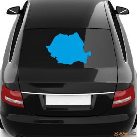 """Autoaufkleber """"Rumänien"""""""