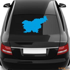 """Autoaufkleber """"Slovenien"""""""
