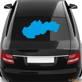 """Autoaufkleber """"Slowakei"""""""