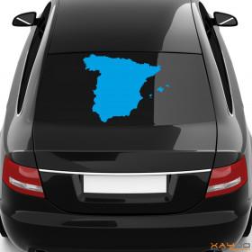 "Autoaufkleber ""Spanien"""