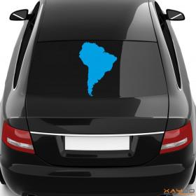 "Autoaufkleber ""Südamerika"""