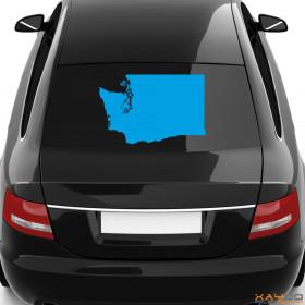 "Autoaufkleber ""Washington"""