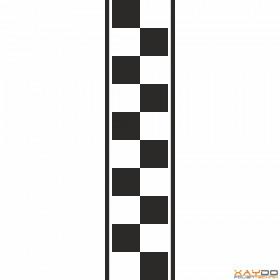 """Rennstreifen """"Flagge B"""" - 2er/25cm"""