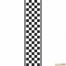 """Rennstreifen """"Flagge B"""" - 5er/25cm"""