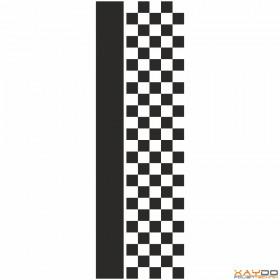 """Rennstreifen """"Flagge C"""" - 5er/31cm"""