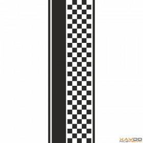 """Rennstreifen """"Flagge D"""" - 5er/32cm"""