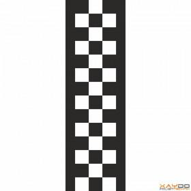 "Rennstreifen ""Flagge E"" - 3er/31cm"