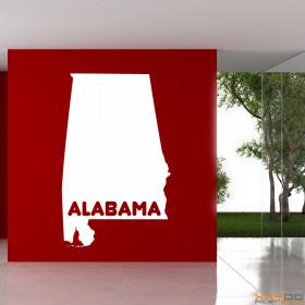 "Wandtattoo ""Alabama"""