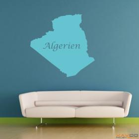 "Wandtattoo ""Algerien"""