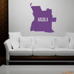 """Wandtattoo """"Angola"""""""