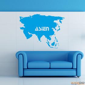 "Wandtattoo ""Asien"""