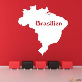 """Wandtattoo """"Brasilien"""""""