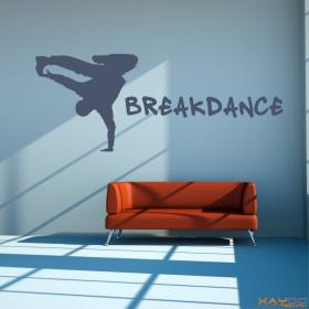 "Wandtattoo ""Breakdance"""