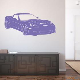 "Wandtattoo ""Corvette Z06"""