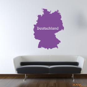 """Wandtattoo """"Deutschland"""""""