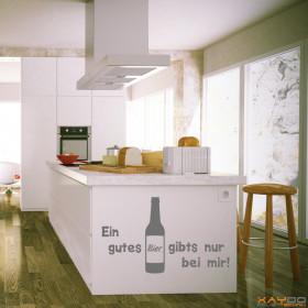 """Wandtattoo """"Ein gutes Bier..."""""""