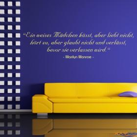 wandtattoo humor ist die f higkeit. Black Bedroom Furniture Sets. Home Design Ideas