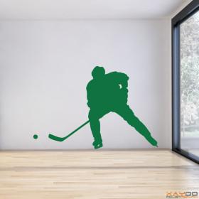 """Wandtattoo """"Eishockeyspieler"""""""
