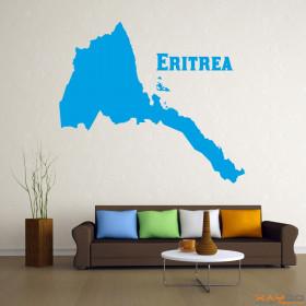 """Wandtattoo """"Eritrea"""""""