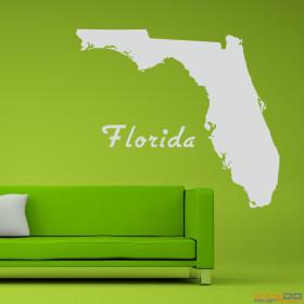"""Wandtattoo """"Florida"""""""